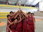 Sub 13 campeón cuadrangular de baloncesto en Zaruma-2014