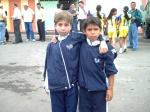 Sebastián y Erick en mini