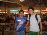 Erick y Paulo , cadetes