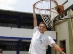 Santiago González empezando a soñar