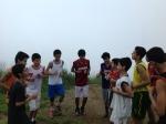 Entrenamiento en cerro Calvario