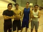 Juan, Diego, Carlos y Alberto, equipo senior 2012