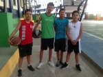 Danny, Roberto, Julio y Guido- Salesianos 2013