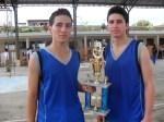 Ricardo y Paulo, campeones en Pasaje  2011