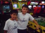 Norman y Santiago estrellas del mini