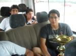 Tony y el trofeo del campeón