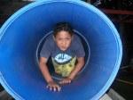 Nico en el túnel
