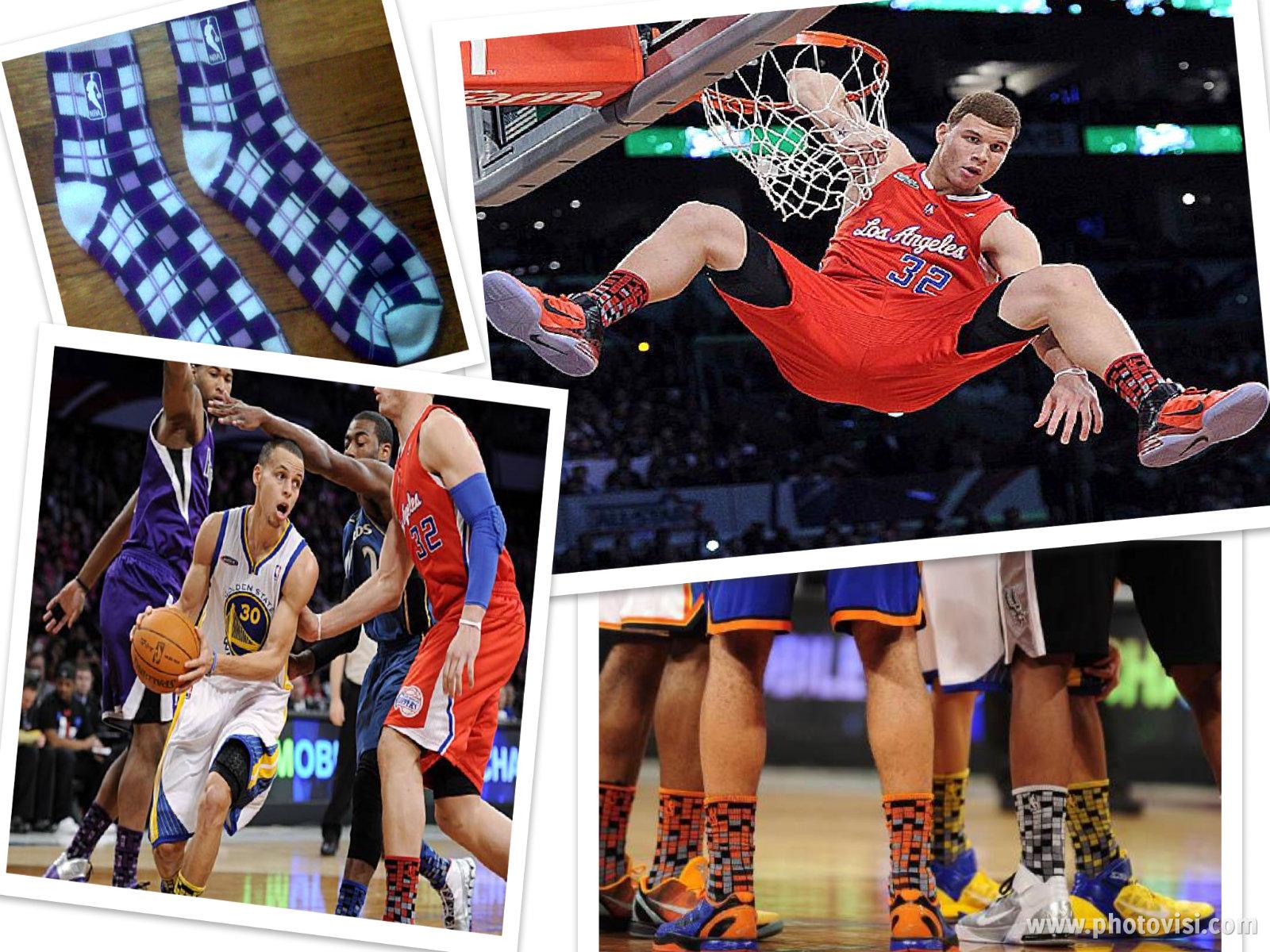 Calcetines a cuadros en la NBA  