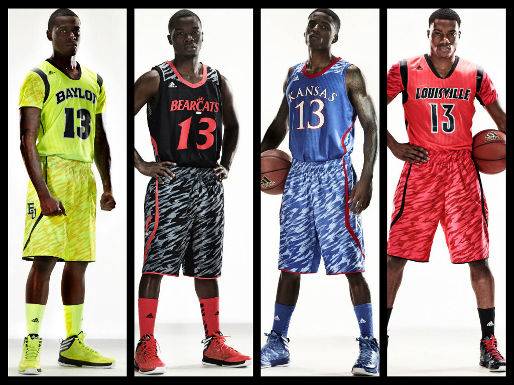 Espectaculares Uniformes Para La NCAA