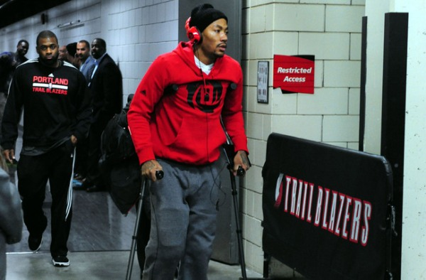 NBA: Chicago Bulls at Portland Trail Blazers